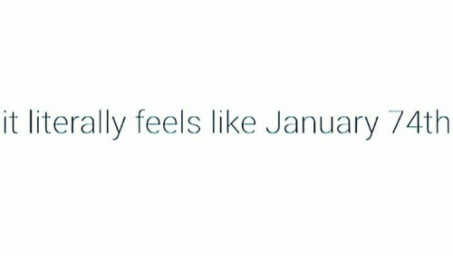 Another case of the Januaries