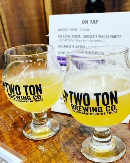 Beer Blog: Two Ton Brewing